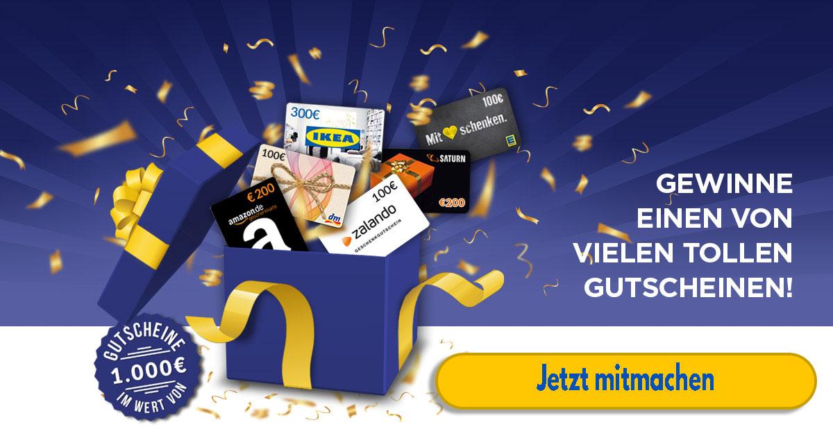 sagross-bazar 1000 Euro Gutschein