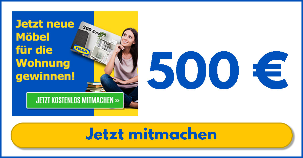 ikea Gutschein 500 EURO gewinnen - sagross-bazar