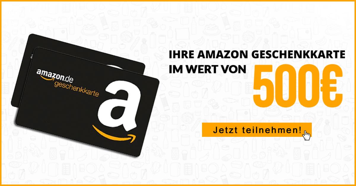 amazon 500 Euro Gutschein