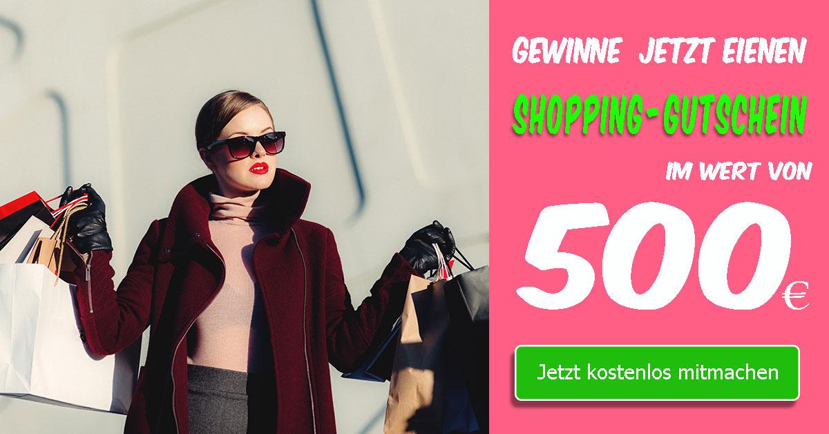 500 EURO Shopping-Gutschein gewinnen - sagross-bazar