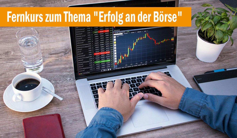 Aktienhandel online lernen für werdende Börsenprofis