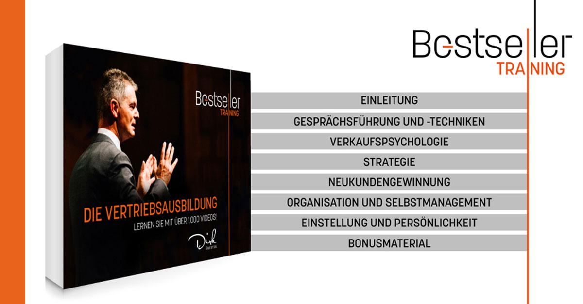 Vertriebsausbildung - Bestseller-Training