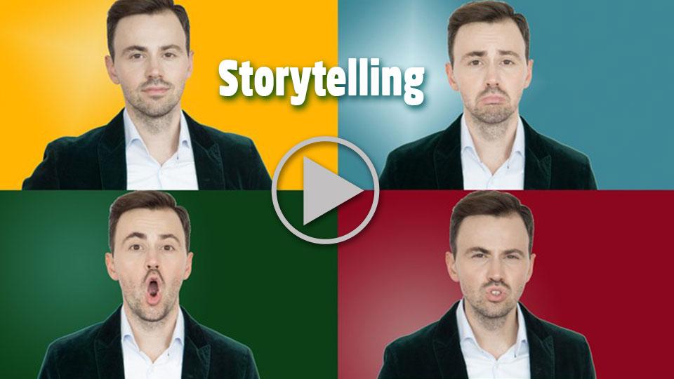 Storytelling Online-Kurs