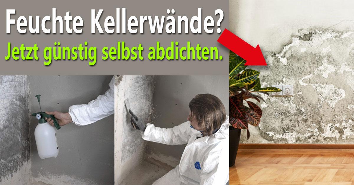 Kellerabdichtung innen - DIY