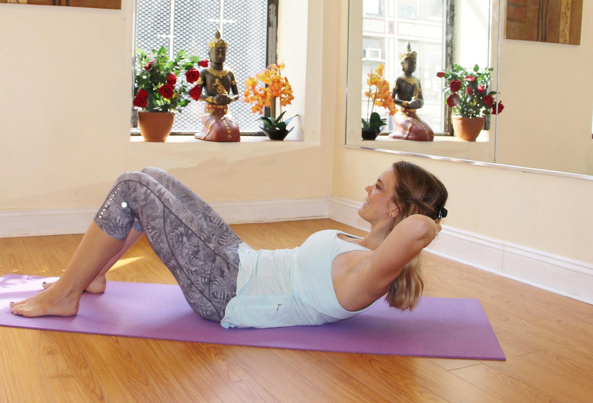 Pilates 30 Tage-Challenge