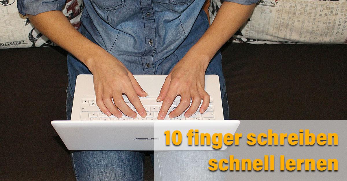 10finger Tastatur schreiben-lernen